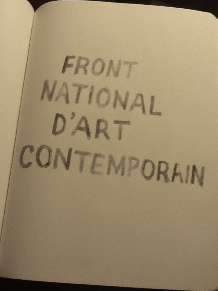 FRONT NATIONAL D'ART CONTEMPORAIN